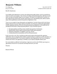 How To Write Cover Letter For Administrative Assistant Position