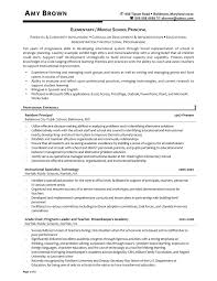 Ideas Of Sample Resume Principal School Assistant Principal Resume