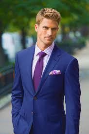 Purple Tie Light Blue Shirt Blue Suit Color Combinations With Shirt And Tie Suits Expert