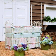 love birds crib bedding