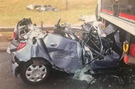 Student saved by paramedics after horrific car crash changes career ...