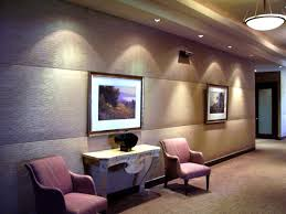 ceiling and lighting design. Stunning Padded Wall Panels Design Hotel Waiting Space With Ceiling Pendant Lighting And T