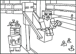 Minecraft Pictures To Print Printable Coloring Pages Minecraft Sword Print Free Mine
