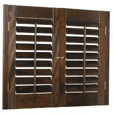 style selections 31in33in w x 24in l plantation plantation shutters lowes l81