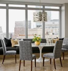 grey upholstered dining chairs new upholstered dining banquette home design ideas and in of 20 fresh