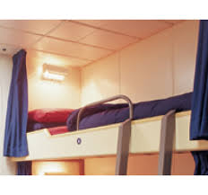 Bunk Bed Privacy Curtains (48 in x 36 in)