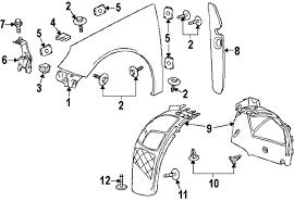 com acirc reg buick front bracket front bracket right partnumber 2011 buick regal cxl l4 2 4 liter gas fender components