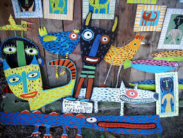 two bad dogs folk art is hosting an opening reception for artist rose rosely rpcv ghana