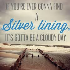 Image result for seeing the silver lining
