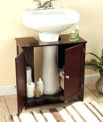 under pedestal sink storage cabinet cabinets for pedestal bathroom sinks wonderful under pedestal sink storage cabinet