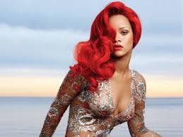 Rhianna Hair Style 25 great photos of rihannas red hair strayhair 6581 by wearticles.com