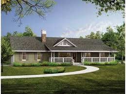 Ranch Style house. I would love to have a house similiar to this one.