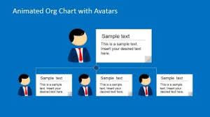 Animated Organizational Chart Animated Org Chart Powerpoint Template Slidemodel