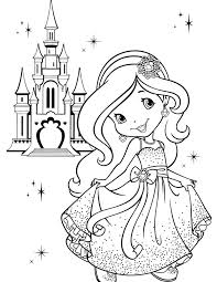 Small Picture Girly Coloring Pages Coloring Pages Online