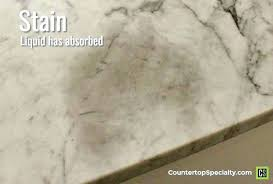 water stains on marble countertop dark oil stain in marble