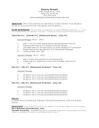 Format For A Resume Example – Resume Web