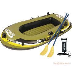 <b>Лодка надувная Jilong Fishman</b> 200 Set 218х110х36 темно ...