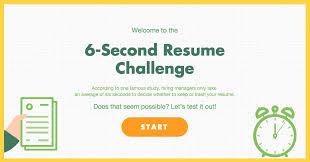 6-second-resume-challenge