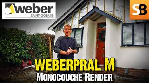 Weber Monocouche Colour Chart Wenber One Coat Render For Beginners