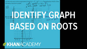 identifying graph based on roots polynomial and rational functions algebra ii khan academy you