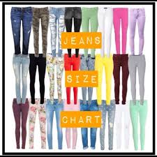 True Religion Size Chart Designer Jeans Sizing Chart Nwt