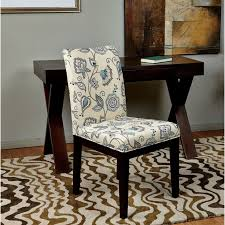 gg baxton studio 5 piece modern dining set 2. parsons paisley/ scroll floral upholstered armless chair by office star products. fabric dining chairsdesk gg baxton studio 5 piece modern set 2