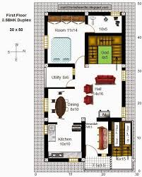 cool and ont 2 duplex house plans for 30x50 site east facing my