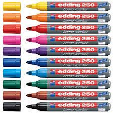 Edding 250 Board Marker - marqueur pour tableau blanc - rechargeable ...