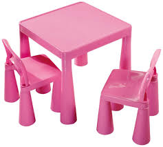 Liberty House Children S Table With 2 Chairs Pink Amazon Co Uk