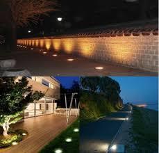 solar ground lights 5 led solar path lights outdoor waterproof garden landscape solar lights auto on