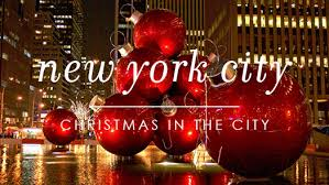 Christmas Getaway in New York City