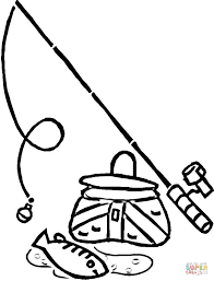Small Picture Fishing coloring page Free Printable Coloring Pages