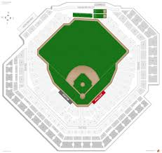 Comerica Park Seating Chart By Rows Citizens Bank Park Seating Chart With Seat Numbers