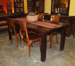 Teak Wood Table Designs Reclaimed Teak Dining Table Teak Chairs From Gadogado Com