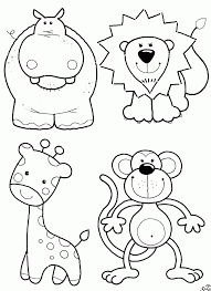 Did you know that zoo is only the short version term for an amusement park with many animals? Cute Zoo Animal Coloring Pages Coloring Home