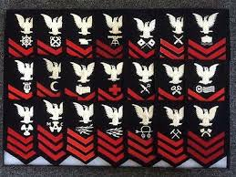 Yeoman Yn Rating Hat Patch Usn Pin Up Uss Enlisted Chief