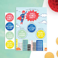 Kids Invitations Kids And Childrens Party Invitations Notonthehighstreet Com
