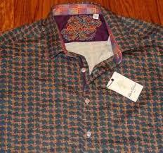 Robert Graham Size Chart Details About Robert Graham Authentic Mens Brand New Dress Shirt Top Size 2xl Nwt