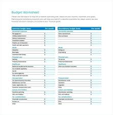 Easy Spreadsheet Templates Budget Sheet Free Budget Templates In