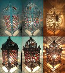 image of moroccan table lamp luxury