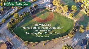 Let's honor founder Hank Barkley!