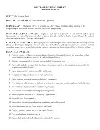 Security Guard Job Description For Resume Security Guard Job Duties For Resume Therpgmovie 9