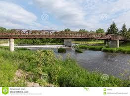 Bear Creek Landscapes Design Bear Creek Bridge And Dam Stock Image Image Of Creek 55634921