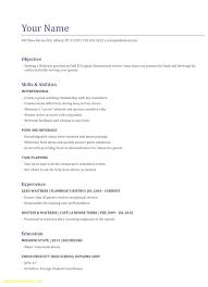 Waiter Resume Sample waiter resume skills Ozilalmanoofco 5