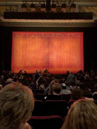 Hollywood Pantages Theatre Section Orchc Row R Seat 106