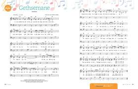 gethsemane sheet music gethsemane friend
