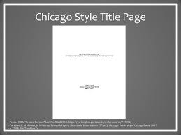 Chicago Style The Basics Dr Robert T Koch Jr Ppt Download