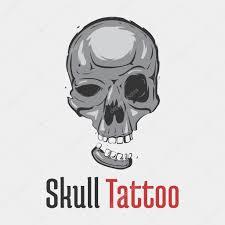 страшные черепа грим черепа татуировки с запятыми улыбаясь челюсти