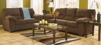 Living Room Sets At Ashley Furniture Buy Ashley Furniture 1760038 1760035 Set Zadee Chocolate Living
