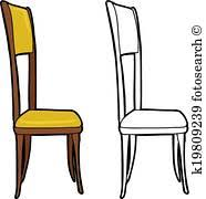dining chair clipart. Wonderful Chair Isolated Chair Inside Dining Clipart D